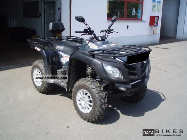 2010 Explorer  Ares 700 incl LoF Dinli Centhor Maasai Motorcycle Quad photo