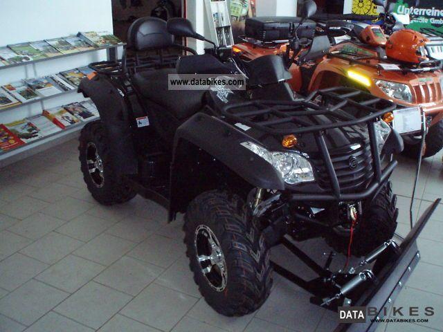 2011 Explorer  Grison X6 625 LOF 4x4 CF Motorcycle Quad photo