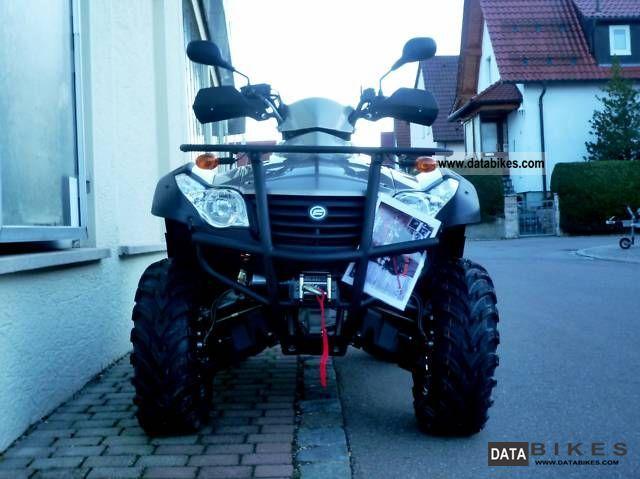 2011 Explorer  Grison 625 Motorcycle Quad photo