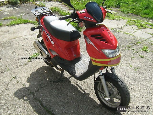 Generic  Spin GE50 2005 Scooter photo