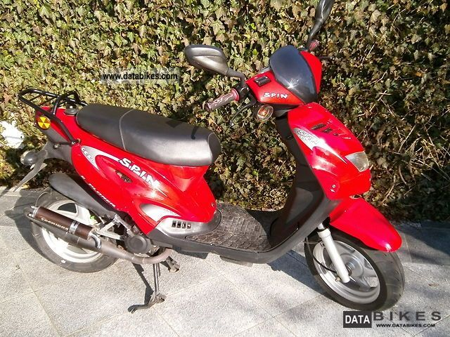 2007 Generic  Spin GE 50 / neat scooter for the spring price Motorcycle Scooter photo