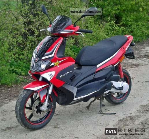 2009 Gilera  Runner 50 Motorcycle Scooter photo