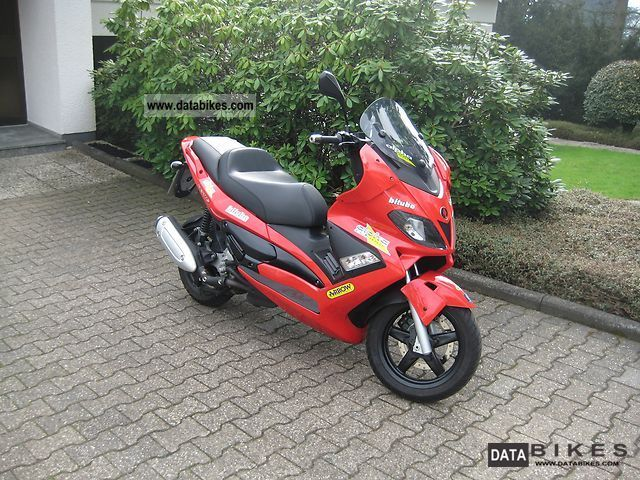 2007 Gilera  NEXUS 250 MALOSSI-TU NING Motorcycle Scooter photo
