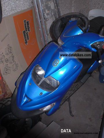 Gilera  Stalker 50 2006 Scooter photo