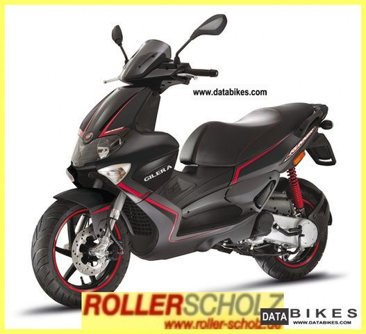 2011 Gilera  Runner 50 SP bundeswe current delivery model Motorcycle Scooter photo
