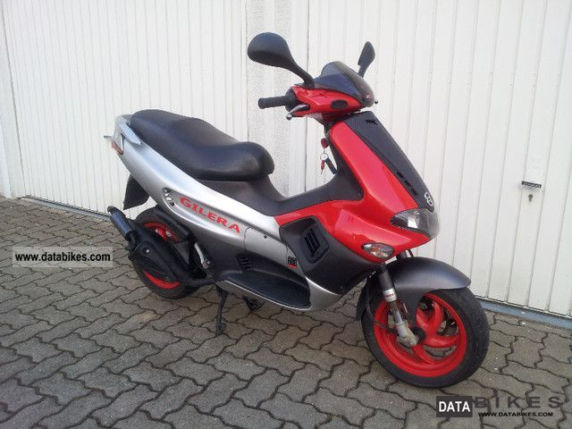2002 Gilera  Runner 50 PureJet | 1.Hand & 10000km | Carbon TOP Motorcycle Scooter photo