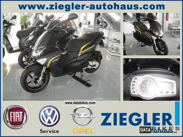 2011 Gilera  Runner 50 SP BLACK SOUL * NEW * Motorcycle Scooter photo