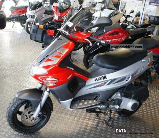 2004 Gilera  Runner 125 VX Motorcycle Scooter photo