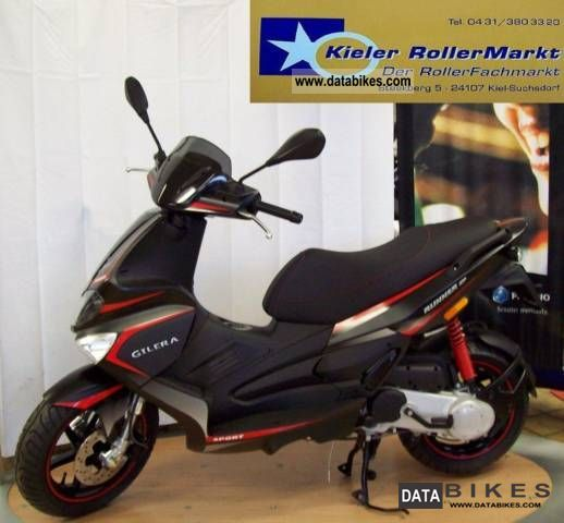 2011 Gilera  Runner 50 SP * cash price on request * Motorcycle Scooter photo