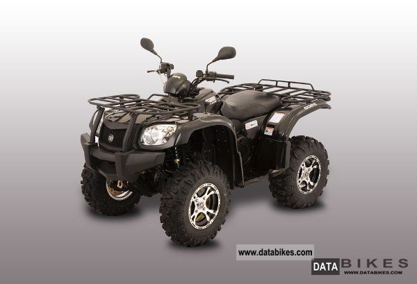 2011 GOES  G 520F 4x4 *** incl electric winch + AHK *** Motorcycle Quad photo