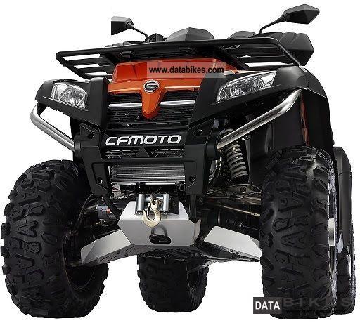 2012 GOES  CF-MOTO-X8 Motorcycle Quad photo