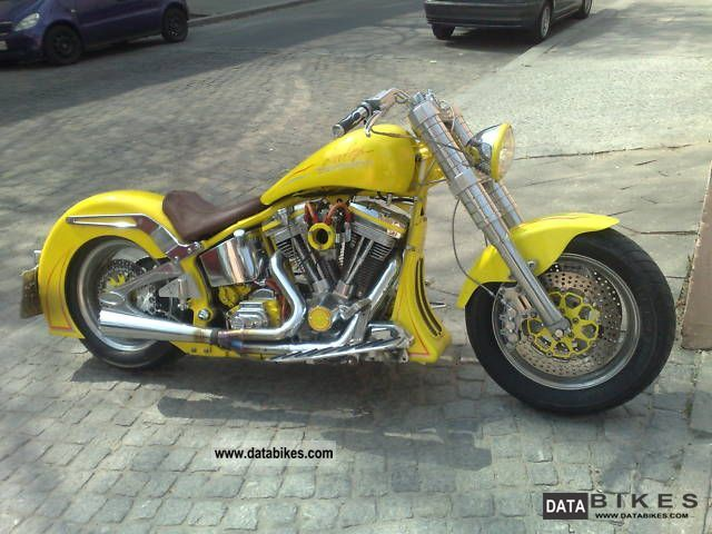 1994 Harley Davidson  Fat Boy Motorcycle Chopper/Cruiser photo