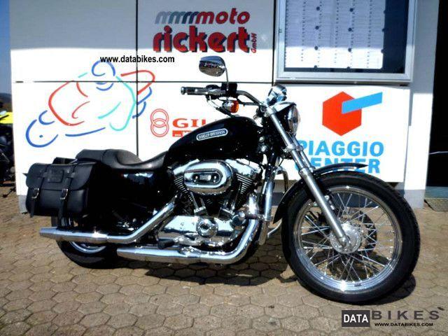 2008 Harley Davidson  SPORTSTER 1200 LOW BLACK & CHROME Motorcycle Motorcycle photo