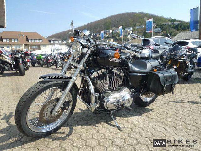 2008 harley davidson sportster 1200 low black amp chrome motorcycle