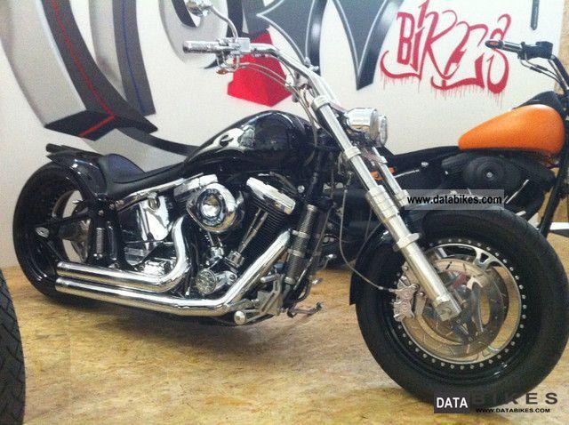 1996 Harley Davidson  Fat Boy 250 Conversion Motorcycle Chopper/Cruiser photo