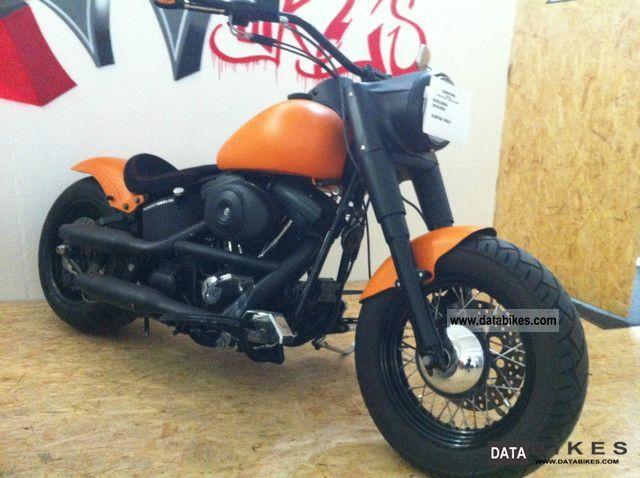 2010 Harley Davidson  santee Softail Motorcycle Chopper/Cruiser photo