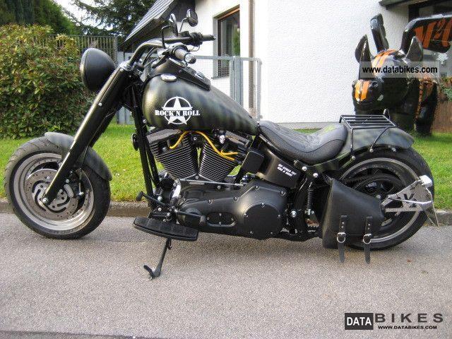 2000 Harley Davidson  FLSTF Softail Fat Boy reconstruction Motorcycle Chopper/Cruiser photo