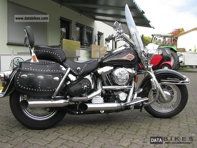 1999 Harley Davidson  Heritage Softail Classic Motorcycle Chopper/Cruiser photo