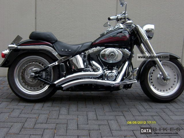2007 Harley Davidson  FLSTF Motorcycle Chopper/Cruiser photo