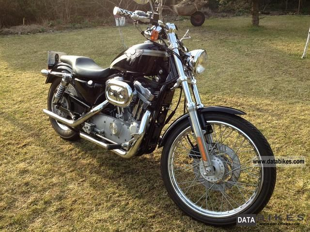 2003 Harley Davidson  XL 883 CUSTOM Motorcycle Chopper/Cruiser photo