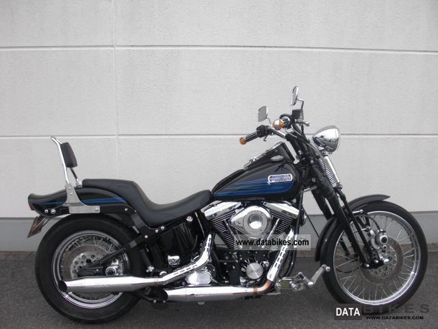 1994 Harley Davidson  * Bad Boy * dt FXSTSB model - mint condition Motorcycle Chopper/Cruiser photo