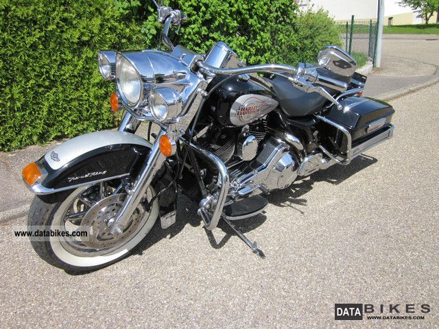2003 Harley Davidson  Road King Injection FLHI Chrome Motorcycle Motorcycle photo
