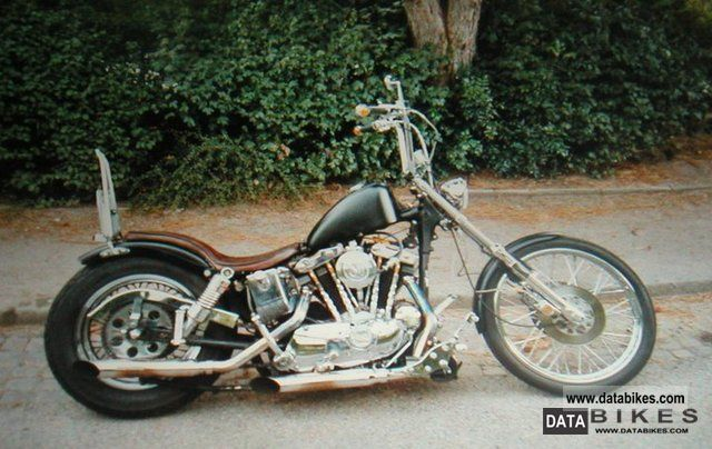 Harley Davidson  1000 XLH Ironhead Sportster 1975 Vintage, Classic and Old Bikes photo