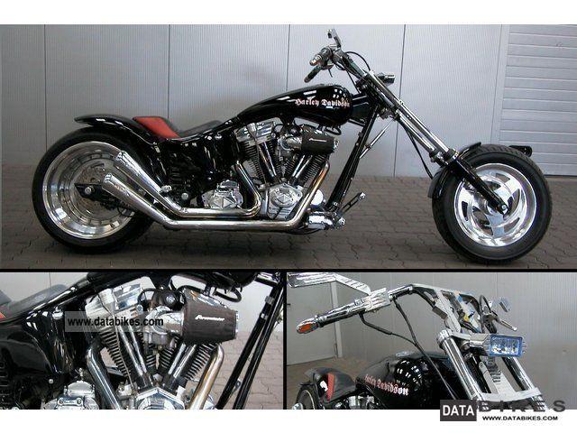 2000 Harley Davidson  Original design Kodlin FKST Unique! Motorcycle Other photo