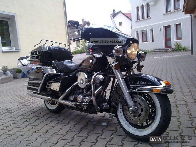 1986 Harley Davidson  E-Glide FLHS Motorcycle Tourer photo