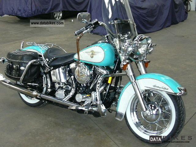 1998 Harley Davidson  Haritage Softail Motorcycle Tourer photo