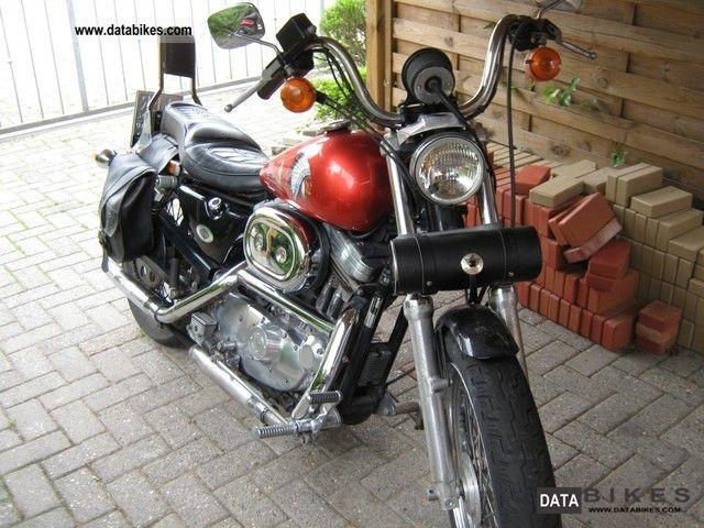 1992 Harley Davidson  Sportster 883 XL2 Huger Motorcycle Chopper/Cruiser photo