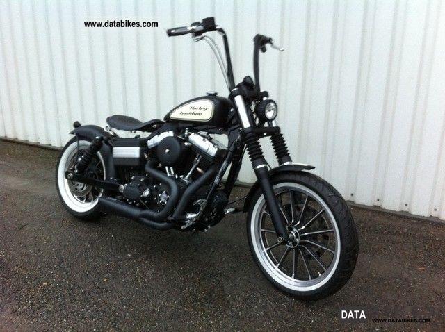 2011 Harley Davidson  Street Bob Bobber Motorcycle Chopper/Cruiser photo