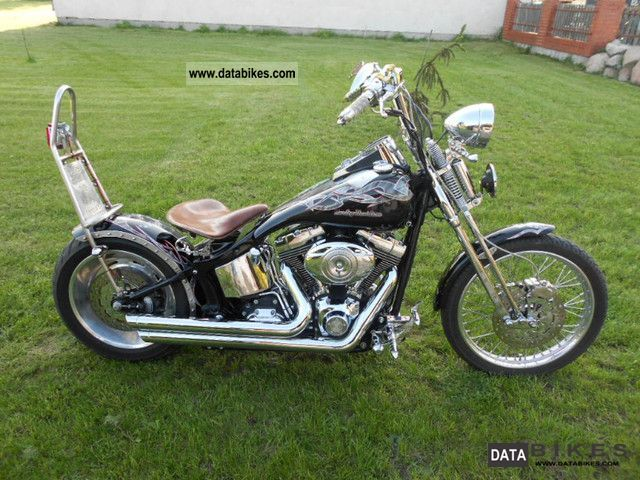 Harley Davidson  OLD STYLE SPRINGER FXSTC 2007 Chopper/Cruiser photo