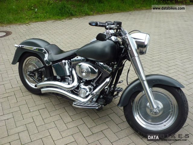Harley Davidson  Fat Boy FLSTFI 2001 Chopper/Cruiser photo