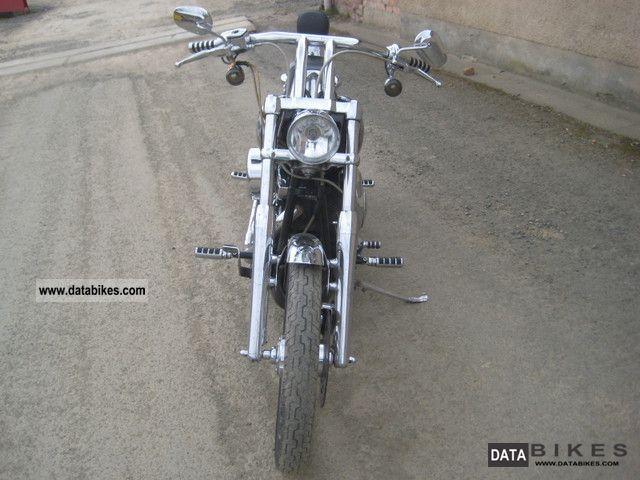 2003 Harley Davidson  FXSTD Softail Deuce Motorcycle Chopper/Cruiser photo