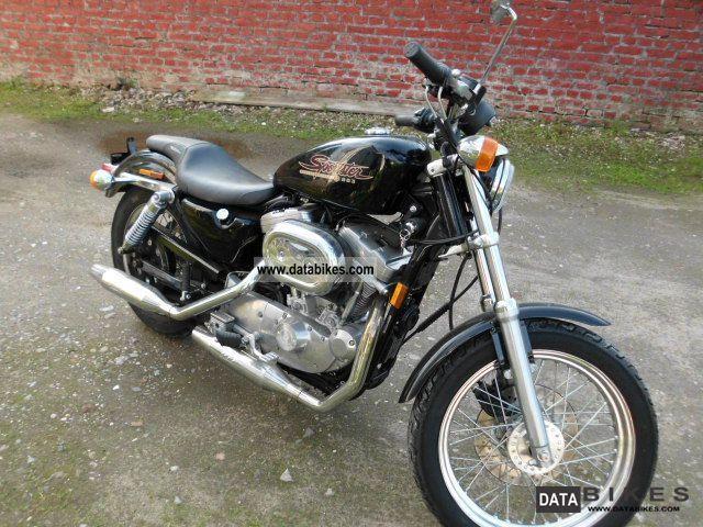 1997 Harley Davidson  Sportster 883 from 1.Hand original 4700km Motorcycle Chopper/Cruiser photo