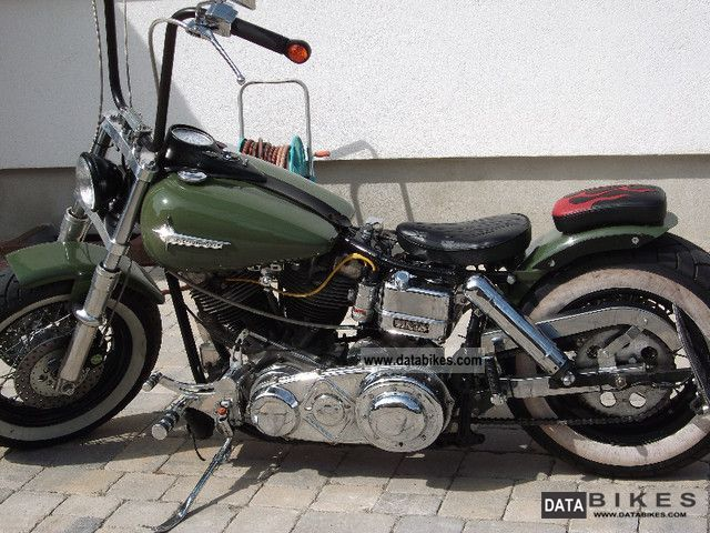 1981 Harley Davidson  FL Shovelhead Motorcycle Chopper/Cruiser photo