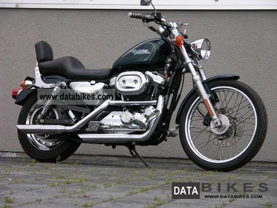 2001 Harley Davidson  XL Sportster Motorcycle Chopper/Cruiser photo