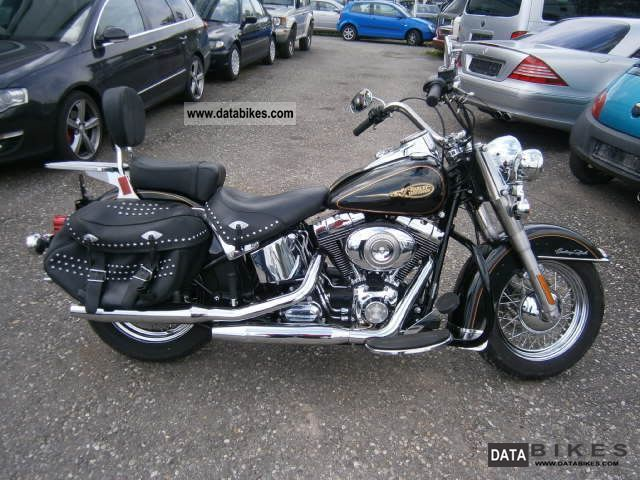 2009 Harley Davidson  Heritage Softail Motorcycle Chopper/Cruiser photo