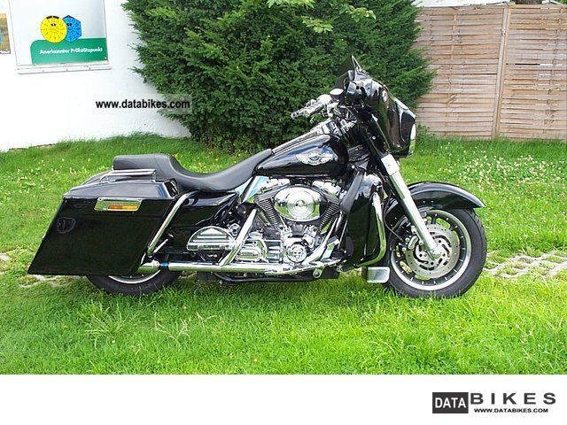 2001 Harley Davidson  FLHT Electra Glide 1450 beautiful conversion top Motorcycle Motorcycle photo
