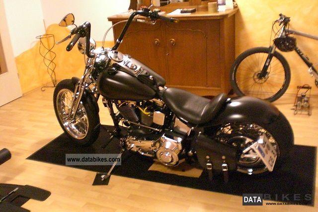 1996 Harley Davidson  Springer FXSTS remodeling 240 Ricks AM Legend Motorcycle Chopper/Cruiser photo