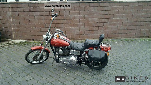 2000 Harley Davidson  FXDWG Dyna Wide Glide Motorcycle Chopper/Cruiser photo