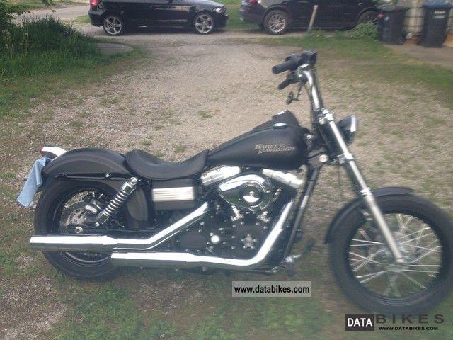 2010 Harley Davidson  street bob Motorcycle Chopper/Cruiser photo