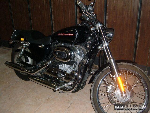 2007 Harley Davidson  Sposter XL883C Motorcycle Chopper/Cruiser photo