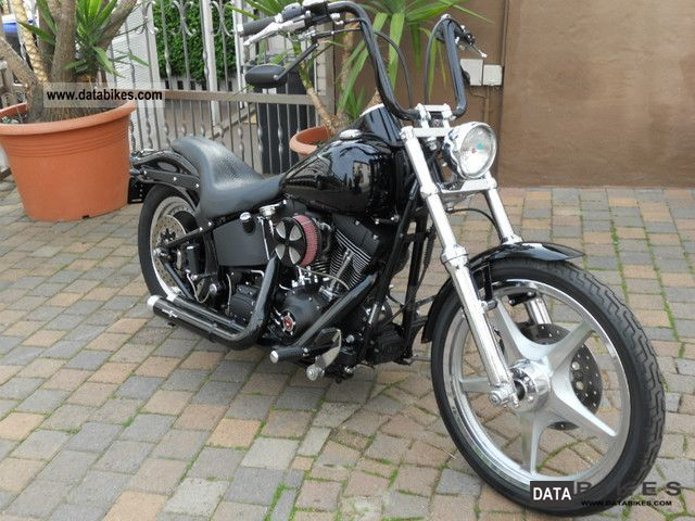 2000 Harley Davidson  FXSTB Night Train Motorcycle Chopper/Cruiser photo