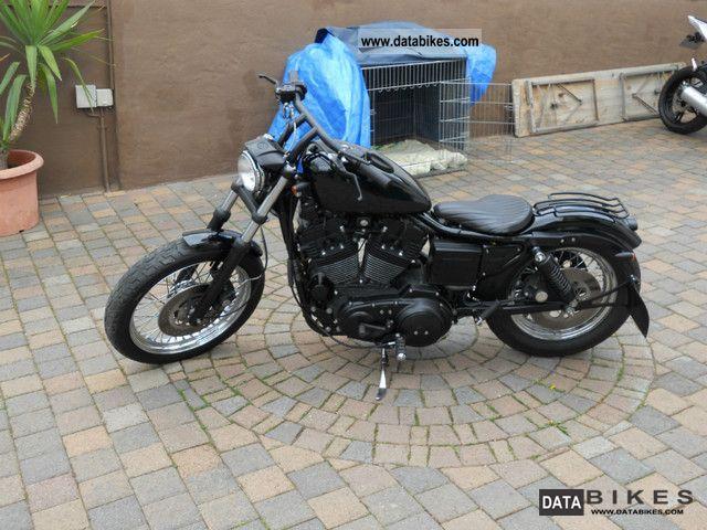 1993 Harley Davidson  Harley-Davidson Sportster 883 Hugger Motorcycle Chopper/Cruiser photo