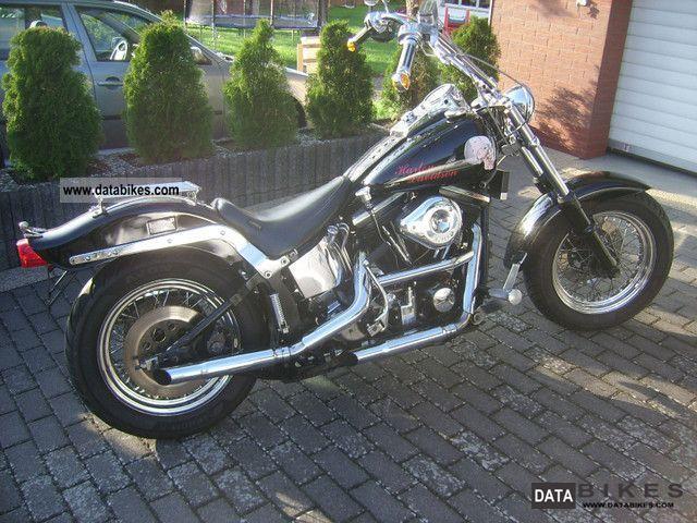 1984 Harley Davidson  Softail Motorcycle Motorcycle photo