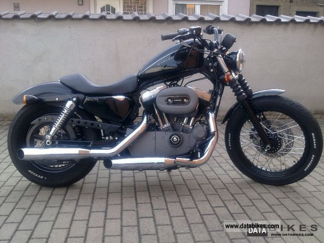 2007 Harley Davidson  1200 Nightster Motorcycle Chopper/Cruiser photo