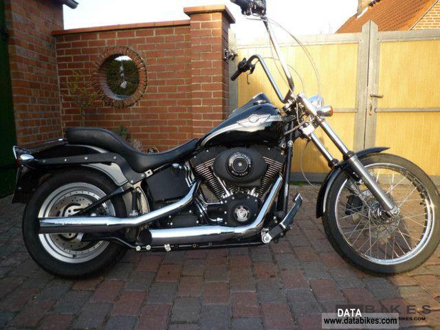 2003 Harley Davidson  FXSTB Softail Night Train 100th German 1.Hand Motorcycle Chopper/Cruiser photo