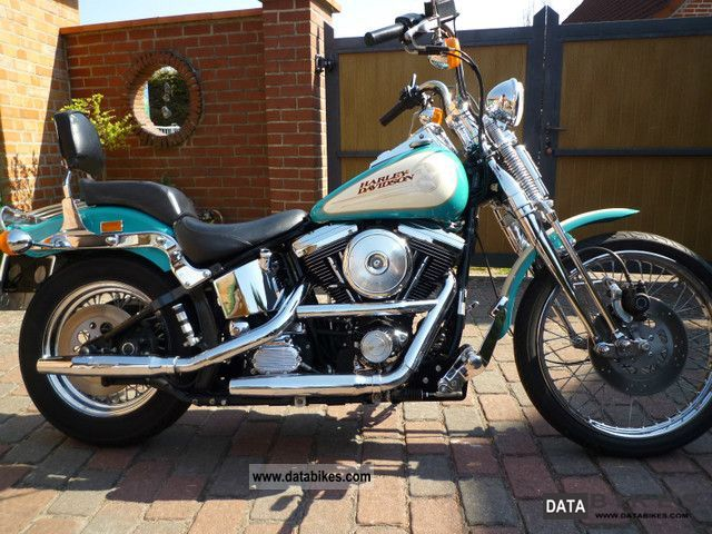 1992 Harley Davidson  FXSTS Springer Softail first Hand German collector Motorcycle Chopper/Cruiser photo